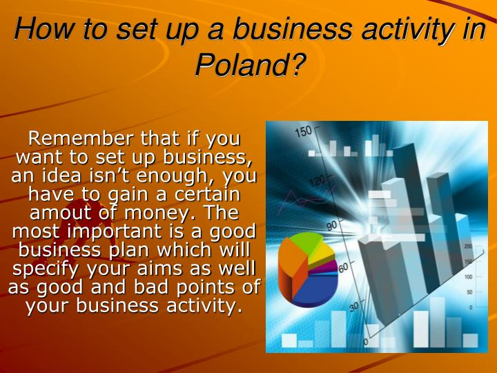 how to set up a business activity in poland n.
