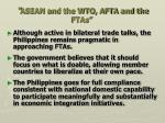asean and the wto afta and the ftas4