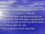 why 666