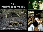 hajj pilgrimage to mecca
