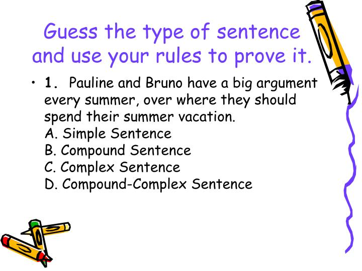 sentences about summer vacation