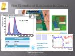 first tb studies of gaas sensor for beamcal