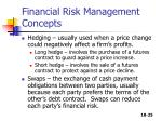 financial risk management concepts1