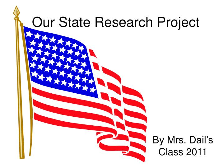 our state research project n.