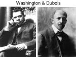 washington dubois