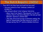 the dutch republic 1600s3