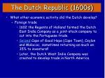 the dutch republic 1600s5
