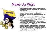make up work