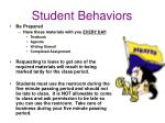 student behaviors1