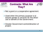 contracts what are they1