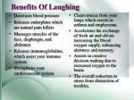 benefits of laughing