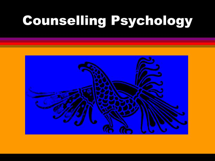 counselling psychology n.