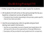 q1 writing prompt fyi