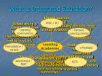 what is integrated education