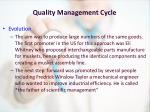 quality management cycle2