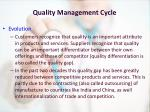 quality management cycle3