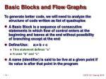 basic blocks and flow graphs