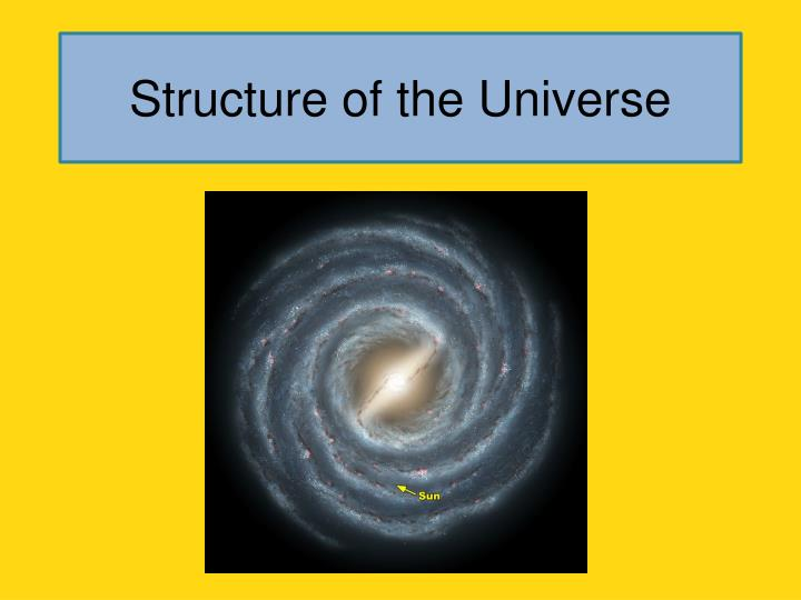 structure of the universe n.