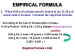 empirical formula4