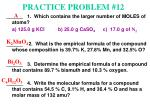 practice problem 12