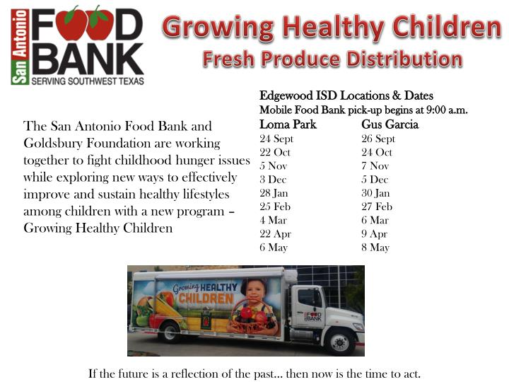 Growing Healthy Children