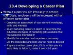 23 4 developing a career plan