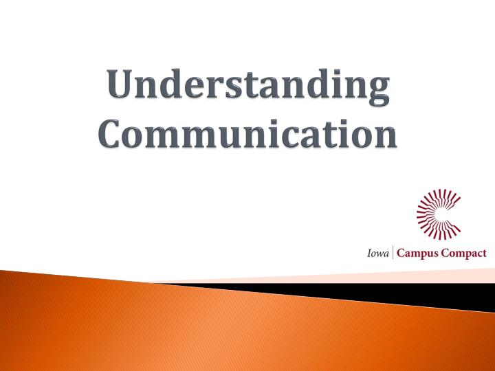 understanding communication n.