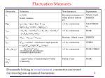 fluctuation measures