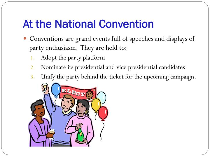 At the National Convention