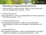 mintzberg s organizational divisions3
