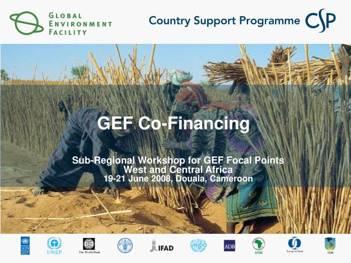 gef co financing n.