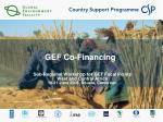 gef co financing