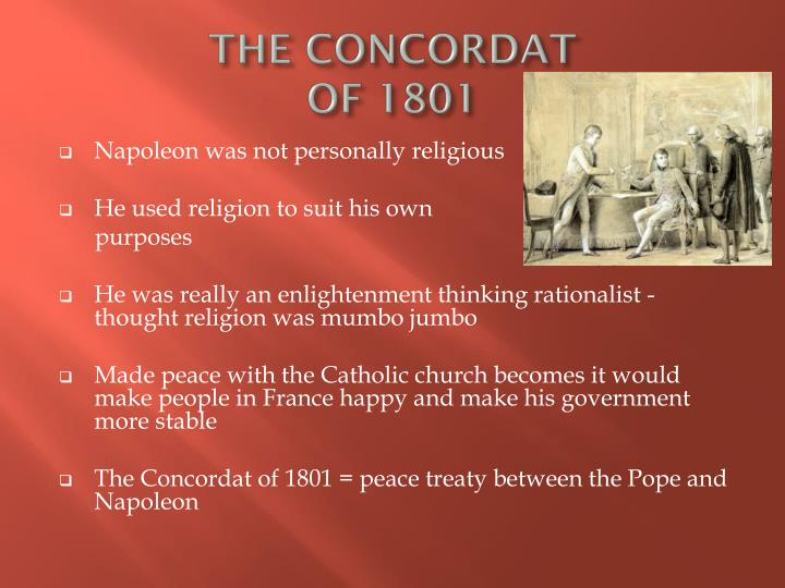 the concordat of 1801 n.