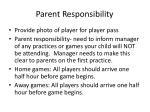 parent responsibility