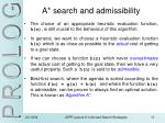 a search and admissibility