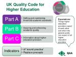 uk quality code for higher education1