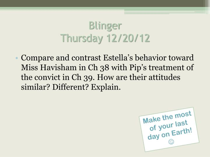 blinger thursday 12 20 12 n.