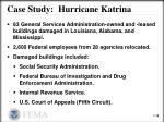 case study hurricane katrina