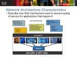network architecture characteristics4