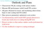 outlook and plans