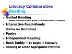 literacy collaborative reading