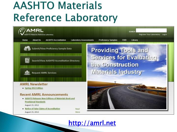 AASHTO Materials