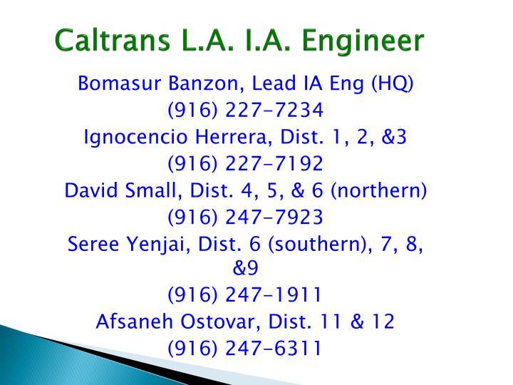 Caltrans L.A.