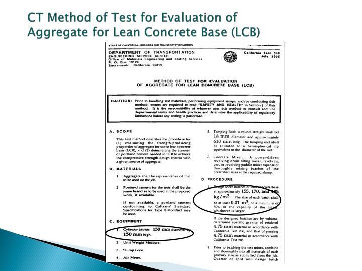 CT Method