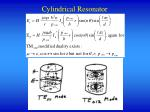 cylindrical resonator2