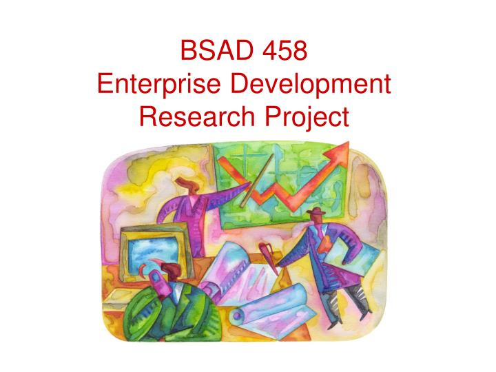bsad 458 enterprise development research project n.