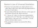 newton s law of universal gravitation1