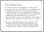 the falling moon