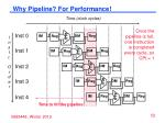 why pipeline for performance