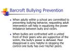 barcroft bullying prevention